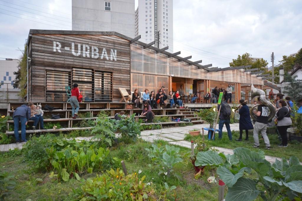 R-Urban: Mise en place d'un réseau de pratiques collectives d'ecologie urbaine-rurale dans la région parisienne