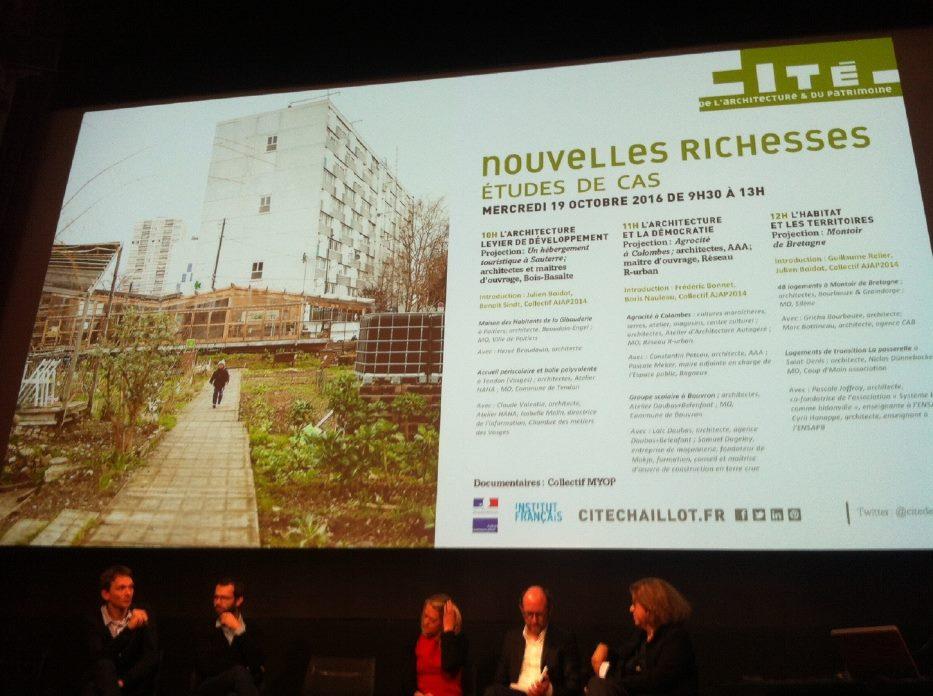 Agrocité a l'honneur a la Cité de l'Architecture