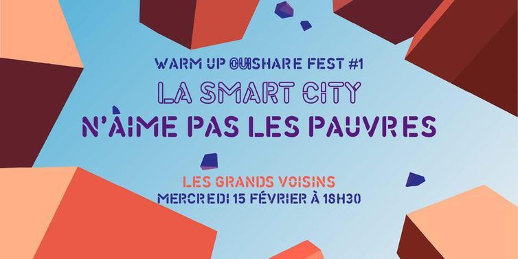 AAA invité à une discussion pour le OuiShare Festival 2017 aux cotés de l'APUR et de Plateaux Urbains !