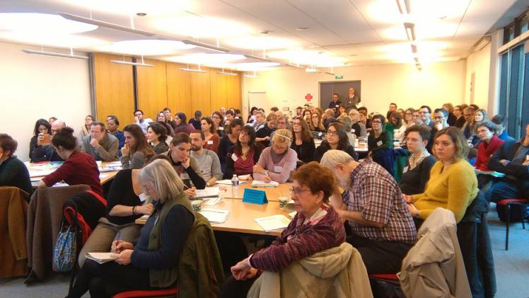 """AAA à l'atelier """"Participation des habitants dans les projets d'aménagement durable"""" organisé par Teddif, 24 février 2017"""