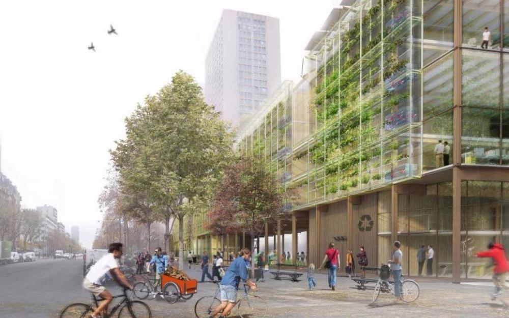 Le 10 mai, Wiki Village Factory fait son apparition dans le Parisien