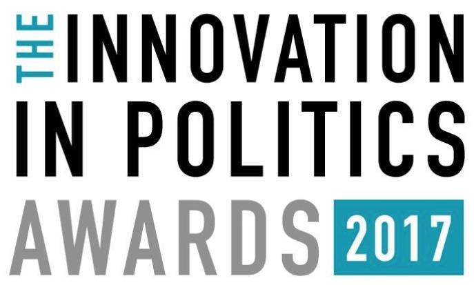 Deux projets de AAA finalistes pour l' Innovation in Politics Awards