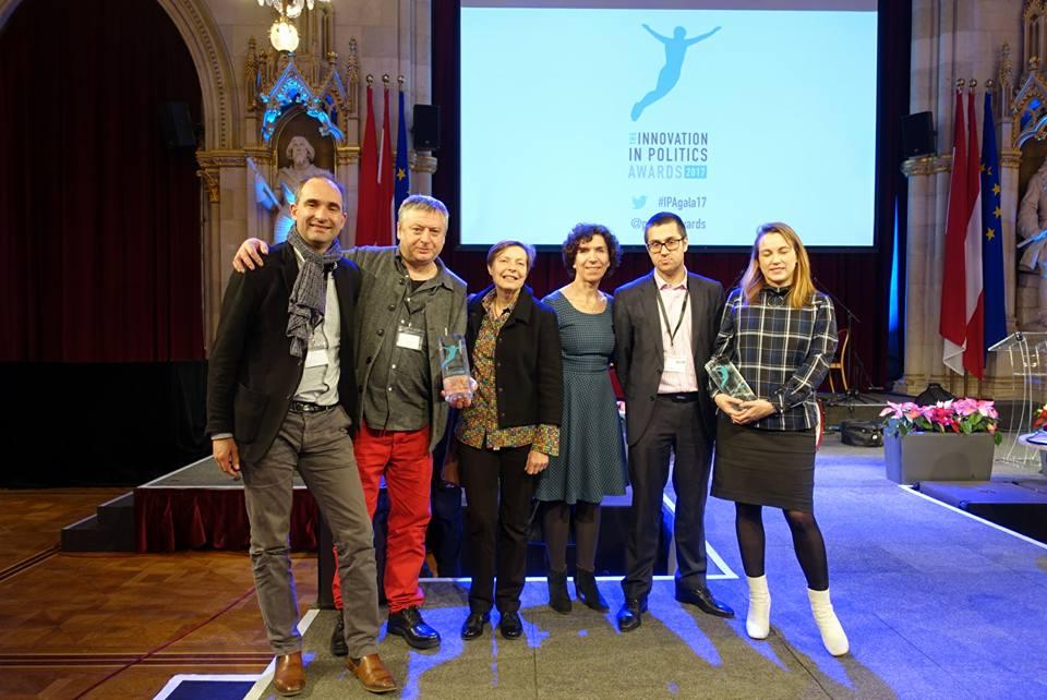 R-Urban reçoit le Prix Européen d'Innovation Politique - catégorie Écologie