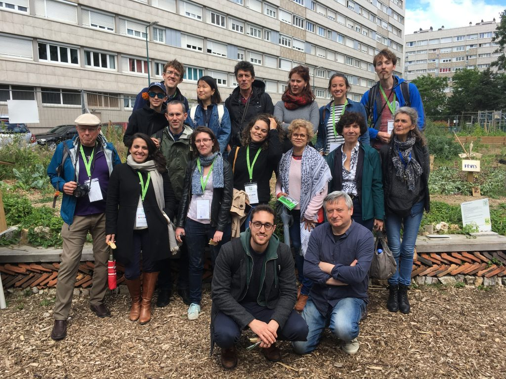 Visite du groupe The Nature of Cities | Agrocité de Gennevilliers
