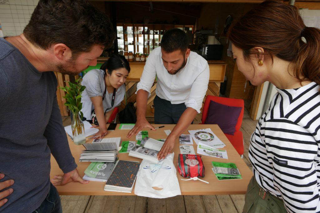 R-Urban accueille un professeur japonais et son étudiant | Réseau R-Urban